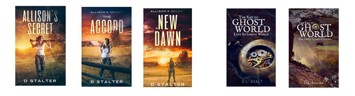 Post Apocalyptic books by D Stalter